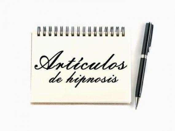 artículos sobre hipnosis