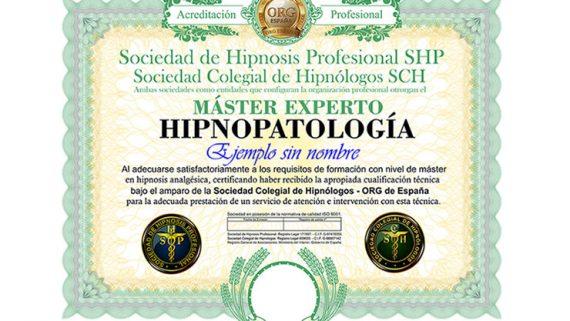 título máster experto en hipnopatología