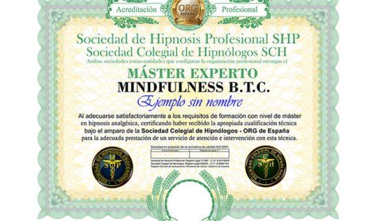 título máster experto en mindfulness